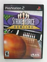 PS2 Strike Force Bowling (Sony PlayStation 2, 2004) Complete Tested