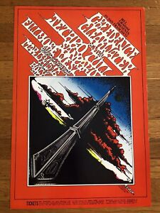 Bill Graham BG #164 Fillmore West Credence Clearwater Revival, March 13-16, 1969
