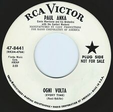PAUL ANKA Ogni Volta ((**VG++ 45 DJ**)) from 1964