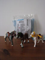 Playmobil Ergänzungen & Zubehör 6360 Country 3 Pferde - Neu