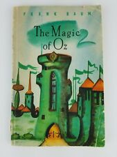 L. Frank Baum Magic of Oz 1961 rare children's Russian textbook