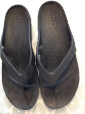 Black Crocs Genuine  7 1/2, W10 Not Worn