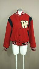 Vintage Empire School Lined Letter Jacket Orchestra Wool Red Blue White Black