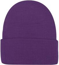 60bd7b96e63 mens purple beanie