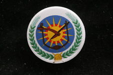 "Ethiopia Ethiopian Derg Soviet Party Emblem Communist Pin Badge Button 1"""