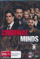 Criminal Minds Season Eight 8 DVD NEW Region 4