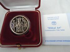ISRAEL 1995 BIBLICAL ART SOLOMON'S JUDGMENT PROOF COIN 1/2 OZ GOLD +BOX +COA