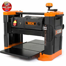 "12.5"" Benchtop Woodworking Thickness Planer with Granite Table Power Wood Tool"