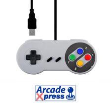 Mando Super Nintendo usb snes Classic Controller Gamepad Raspberry Windows PC