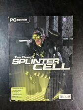 Tom Clancy's Splinter Cell PC Alternative Art CD-ROM Dutch Foreign Release w/Box