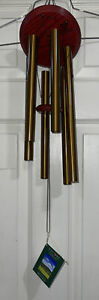 """WINDCHIMES WOODSTOCK ENCORE COLLECTION CHIMES OF PLUTO BRONZE 27"""" DCB27"""