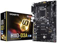 Gigabyte H110-d3a BTC Edition Intel H110 Socket Scheda Madre 1151 Speciale