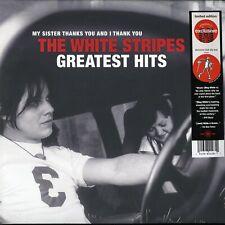 White Stripes Greatest Hits Sealed Limited 2LP + Slipmat Target Jack White