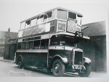 "LONDON INDEPENDENT/PIRATE BUS ""WESTMINSTER"" - (UW 2310) - BECAME TD 90 - RTE 26"