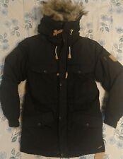 New Fjallraven Singi Down Small Winter Coat Parka Jacket Black Men's