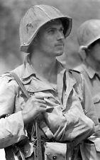 WW2 Photo WWII US Soldier Portrait 1944 US Army  Italy World War Two / 1419