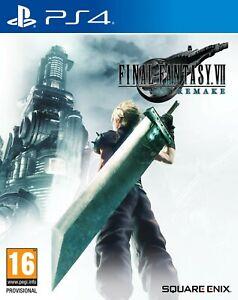 Final Fantasy VII Remake  PS4  EU