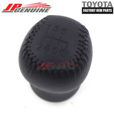 FACTORY OEM TOYOTA SUPRA LEATHER 6 SPEED GEAR SHIFT KNOB 33504-14130-C0