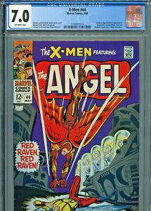 X-Men #44 (Marvel 1968) CGC Certified 7.0