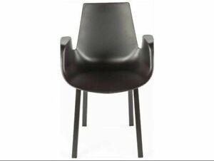 Stilnovo Hordaland Dining Arm Chair Black