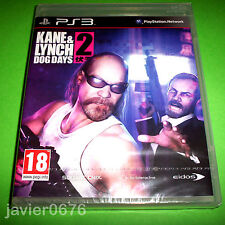KANE & LYNCH 2 DOG DAYS NUEVO PRECINTADO PAL ESPAÑA PS3