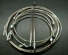 MORRIS MARINA - POLISHED CUPRO-NICKEL BRAKE PIPE SET