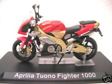 Ixo Altaya Aprilia Tuono Fighter 1000 red gold Motor bike 1:24