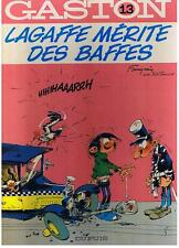 GASTON LAGAFFE N° 13 LAGAFFE MERITE DES BAFFES FRANQUIN DUPUIS 1982 TBE