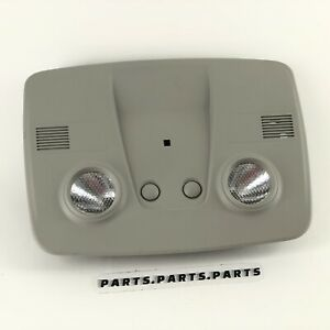 07-17 GMC Acadia/ 09-12 Chevy Traverse Overhead Map Dome Lights Lamps GRAY