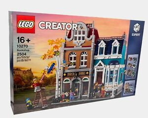 NEU & OVP | Lego | Creator | Modular Building | Bookshop Buchladen | 10270