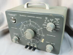 Heathkit C-3 Capacitor Condenser Checker and Leakage Tester- untested