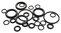 O-Ring Boss Assortment.  SAE 90 Durometer O-Ring Boss #4 to #16.  64PC Set
