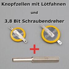 CR2025 + CR1616 Knopfzelle + 3,8 Bit Schraubendreher - GameBoy Batterie Pokemon