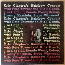 Eric Clapton's Rainbow Concert  Vinyl Record  LP Original US RSO 1973