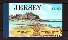 Jersey 1991 Views Tourism Booklet mint stamps
