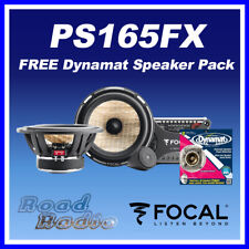 Focal PS165FX  + Dynamat Xtreme Speaker Pack