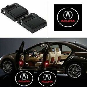 For Acura Courtesy Door LED Logo Projector Light 2Pc Welcome Light Integra RSX