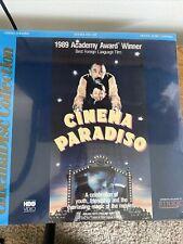 New listing Cinema Paradiso Laserdisc New