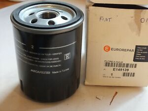 New Genuine Eurorepar Oil filter fits Fiat Brava Bravo Doblo Punta+ E149139 PC22
