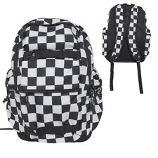 Urban Classics Checker Backpack Check Checkered Checked Black White Flag Racing