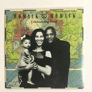 Womack & Womack Celebrating The World EXc 1988 Single