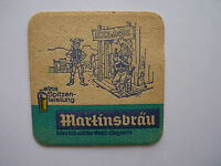 Bierdeckel Martinsbräu - Marktheidenfeld