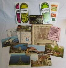 1972 New Orleans Paper Postcard Menu Lot Antoine's Bourbon St. More