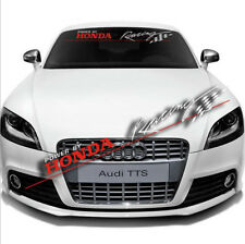 Windshield Car Front Rear Banner Decal Lucency Sticker Power by Honda Racing