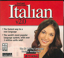 Instant Immersion LEARN how to Speak BEGINNER ITALIAN Language Win/Mac CD