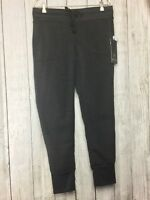 NWT 90 Degrees by Reflex Women's Gray Sweat Jogging Pants Sz L Fleece $88