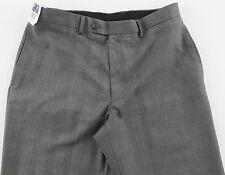 Men's RALPH LAUREN Gray Black Glen Plaid Dress Pants 34x30 34 NWT NEW Washable