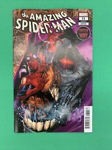 Amazing Spider-Man #71 1:25 Federico Vicentini Variant Sinister War Marvel 2021