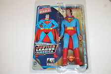 SUPERMAN JUSTICE LEAGUE OF AMERICA 8 INCH POSEABLE FIGURE MEGO STYLE NEW