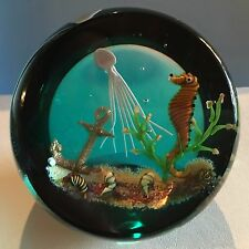 """Caithness Traditional Collection """"Drifting By"""" by William Manson New In Box COA"""